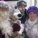 Полицейский Дед Мороз поздравил Елабужских ребятишек (фото)