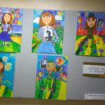 Выставка работ в детской художественной школе №2