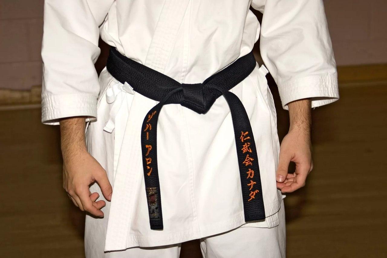 Karate belts