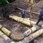 На этой неделе будут завершены ремонтные работы на сетях 8 микрорайона