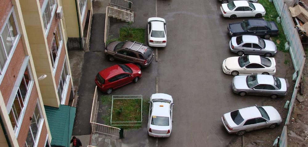 Как сделать придомовую парковку 23