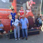 Боксер Елабуги взял «золото» на всероссийских соревнованиях по боксу среди студентов