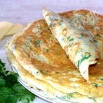Сырные блинчики на завтрак