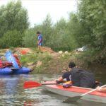 В Елабуге завершился четырехдневный экологический сплав по реке Тойма