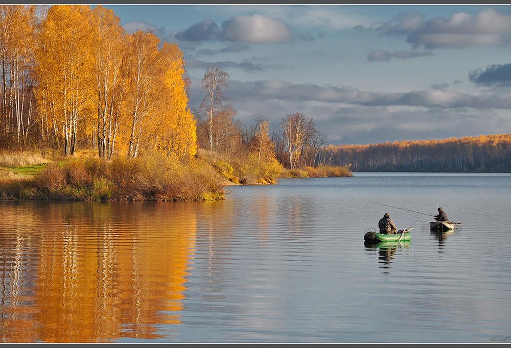 все о рыбалке осенью в ноябре