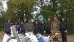 60 мешков мусора собрали на одном из островов Камы жители Елабуги