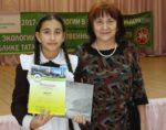 Юная елабужанка заняла первое место на конференции «Экология, город и мы»