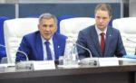 Рустам Минниханов оценил проекты, разработанные выпускниками корпоративного университета ОЭЗ «Алабуга»