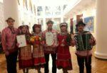 Участники ансамбля «Ак Каз» привезли Рождественскую звезду из Казани