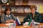 Татьяна Ларионова и Гузель Удачина провели совместный прием