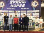 Елабужский борец завоевал «бронзу» на Международном турнире по дзюдо