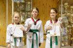 В Казани елабужанки заняли призовые места по тхэквондо