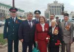 Елабужские ветераны приняли участие в торжественном мероприятии в Казани, посвященном 74-й годовщине Победы