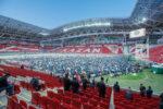Пятнадцать тысяч верующих мусульман на стадионе: республиканский ифтар вернулся на «Казань Арену»