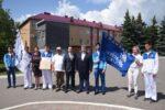 В Елабуге приняли эстафету Флага WorldSkills