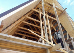 Как изготовить фронтон крыши