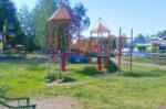В елабужском парке «Чебурашка» стартовали работы по благоустройству