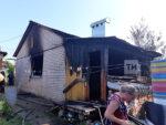 На пожаре в частном доме  Елабуги погиб мужчина