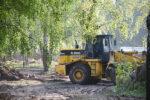 На «Чебурашке» начались строительные работы
