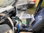 В Елабуге поймали парня, который вместе с другом разбили лопатой машину и «треногу» фотофиксации