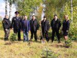 Полицейские Елабуги приняли участие в проекте «Лес Победы»