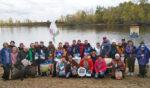Моржи Татарстана провели часовой заплыв на открытой воде реки Кама