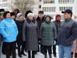 В Елабуге проходят встречи с жильцами по программе «Наш двор»