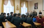 «Урок мужества» в Елабужскому суворовском военном училище