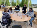 Рустем Нуриев провел приём граждан в парке «Чебурашка»