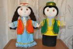 В детские сады Елабуги привезли 44 комплекта кукол говорящих на татарском языке