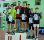 Елабужане заняли третье место в межмуниципальном Чемпионате по бадминтону