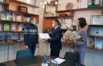 Многодетной семье  вручили сертификат на 100 тыс. рублей