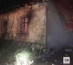 Потушив заброшенный дом в Татарстане, пожарные обнаружили тела двоих погибших