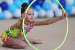 В спортивной школе «Олимп» появились занятия по художественной гимнастике