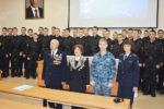 Встреча ветеранов ОВД с суворовцами