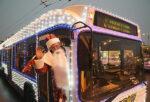 В Елабуге объявили конкурс на лучшее украшение транспорта к Новому году