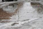 Из-за таяния снега улицы Елабуги затопило