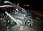 На трассе под Челнами столкнулись два авто, трое детей пострадали