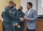 Рустем Нуриев наградил пожарных
