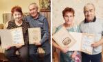 Елабужский ЗАГС поздравил с Днём пожилых семейные пары со стажем