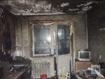 На пожаре в челнинской многоэтажке погиб один из жильцов