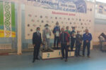 В турнире по борьбе на поясах елабужане заняли призовые места